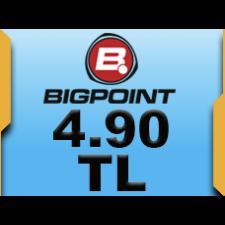 Bigpoint 4.90 TL lik Kupon