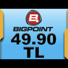Bigpoint 49.90 TL lik Kupon