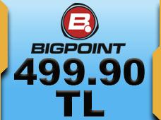 Bigpoint 499.90 TL lik Kupon