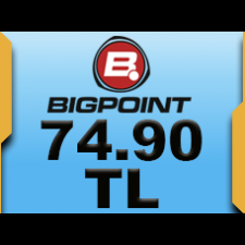 Bigpoint 74.90 TL lik Kupon