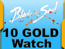 Blade and Soul Anglers Watch 10 Gold