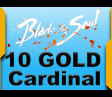 Blade and Soul Cardinal Gates 10 Gold