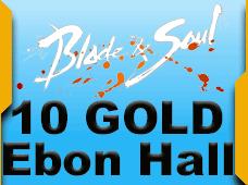 Blade and Soul Ebon Hall 10 Gold
