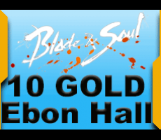 Blade and Soul Ebon Hall 10 Gold