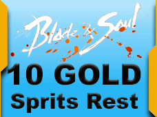 Blade and Soul Sprits Rest 10 Gold
