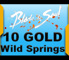 Blade and Soul Wild Springs 10 Gold