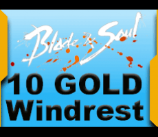 Blade and Soul Windrest 10 Gold