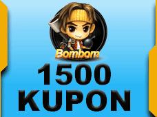 BomBom 1500 Kupon 10 TL