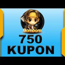 BomBom 750 Kupon 5 TL