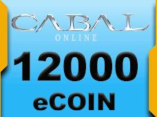 Cabal Online 12000 eCoin