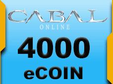 Cabal Online 4000 eCoin