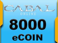 Cabal Online 8000 eCoin