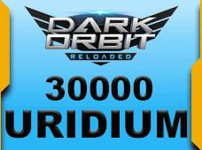 Darkorbit Uridium 30000 Uridium + 1500 Uridium Bonus