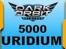 Darkorbit Uridium 5000 Uridium + 250 Uridium Bonus