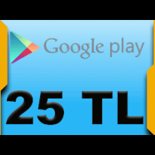 Google Play 25 TL