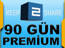 Keep2share Premium 90 Gün