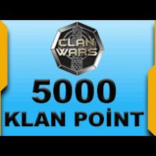 Klan Savasları Klanlar 5000 Premium Puan