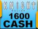 Knight Online 1600 Cash Esn