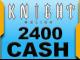 Knight Online 2400 Cash Esn