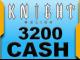 Knight Online 3200 Cash Esn