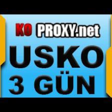 KOPROXY.NET Proxy TR USKO IP 3 Gun