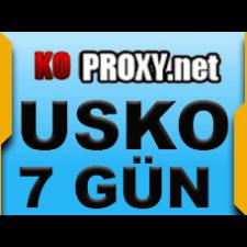 KOPROXY.NET Proxy  TR USKO IP 7 Gun