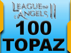 League Of Angels 100 Topaz