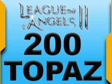 League Of Angels 200 Topaz