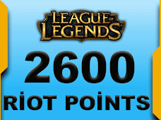 2600 Riot Points Russia