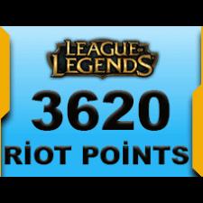3620 Riot Points