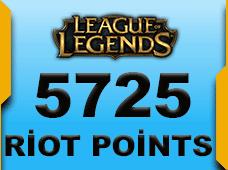 5725 Riot Points Eu West