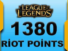 1380 Riot Points North America