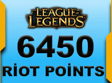 6450 Riot Points Latin Amerika