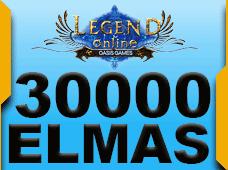 30.000 + 3.000 Legend Online Elmas