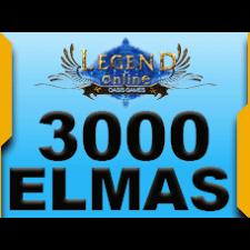 3.000 + 300 Legend Online Elmas