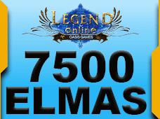 7.500 + 750 Legend Online Elmas