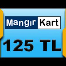 125 TL Mangır Kart