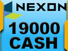 19000 Nexon Cash