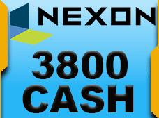 3800 Nexon Cash