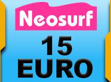 Neosurf 15 Euro