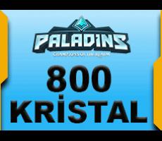 Paladins 800 Kristal