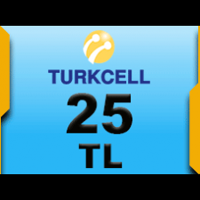 Turkcell 25 TL (Tam)
