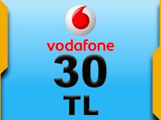 Vodafone 30 TL (Tam)