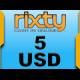 Rixty Code USD 5