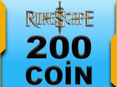 RuneScape - 200 RuneCoins