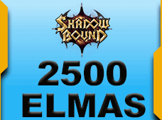2500 + 75 Shadowbound Elmas