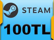 100 TL Steam Cüzdan Kodu