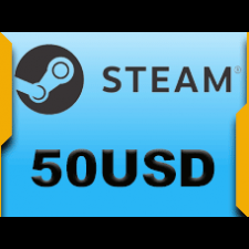 Steam Wallet 50 USD Epin