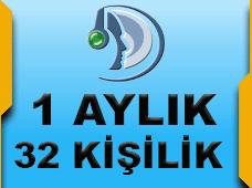 Teamspeak3 32 Kişilik Server 1 Aylık