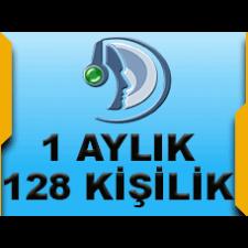 Teamspeak3 Server 128 Kişilik 1 Aylık